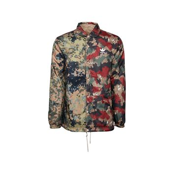 Adidas Pharrell Williams Hu Hiking Reversible Camo Coach Jacket