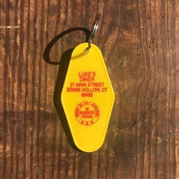 Gilmore Girls - Luke's Diner Motel Key Fob