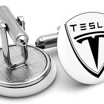 Tesla Motors Logo Cufflinks