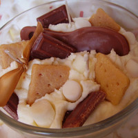 Smores Spoonful Bowl Soy Candle from The Candle Confectionery