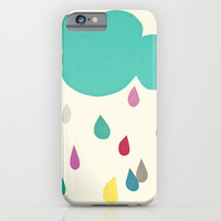 Sunshine and Showers iPhone & iPod Case by Cassia Beck