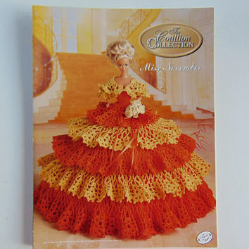 The Cotillion Collection Miss November Pattern Society Fashion Barbie Doll Crochet Pattern Annies Attic