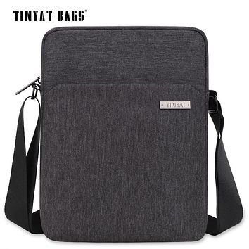 Men's Shoulder Bag Multifunctional Man Casual Messenger Bag For Ipad Phone Canvas Sling Bag Business Casual Briefcase