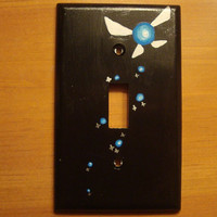 Legend of Zelda Navi Single Light Switch Cover