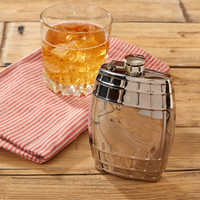 Lock Stock and Barrel Flask