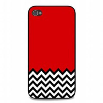 Welcome to twin peaks chevron for iphone 4 and 4s case