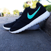 Nike Roshe Run Tiffany Swoosh Custom
