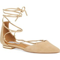 Steve Madden 'Sunshine' Lace-Up Flat (Women) | Nordstrom