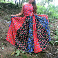 Skirt, Gypsy skirt, Tribal Skirt,  belly dance skirt, Boho Skirt, Festival Skirt, Music Festival Skirt
