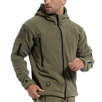 Men's Tactical Field Bomber Jacket, Military Clothes Special Forces Army Jackets, Fall Spring Casual Male Slim Pilot Coa
