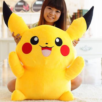 Kawaii Stuffed Pikachu Plush Toy