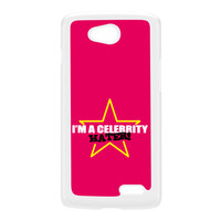 Celebrity Hater White Hard Plastic Case for LG L90 by Chargrilled