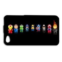 Cute Superhero Funny Hero Comic Phone Case iPhone Hot Cover Black Cool Custom