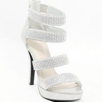 Wedding Shoes with Rhinestones - Mya (Style 400-9)