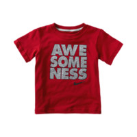 "Nike ""Awesomeness"" Toddler Boys' T-Shirt - Red"