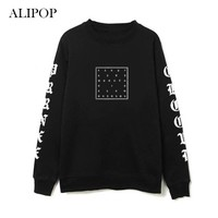 Youpop Kpop MONSTA X FAN MEETING Album Hoodie K-POP Casual Cotton Hoodies Clothes Pullover Printed Long Sleeve Sweatshirts WY416