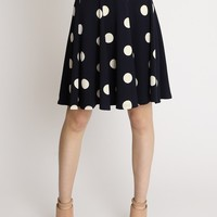 Connect The Dots Polka Dot Skirt | Ruche