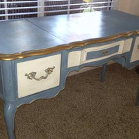 Vintage French Provincial desk /vanity by Thomasville