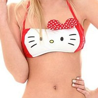 Hello Kitty Bandeau Swim Top - 171510