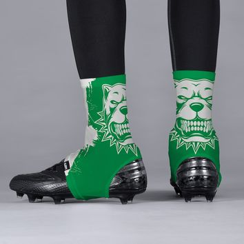 Pitbull Green Spats / Cleat Covers