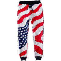 American Flag Joggers