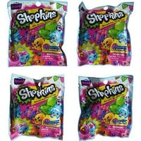 Shopkins Season 4 Blind Gift Bags - Set of Four Blind Bags by Moose Toys