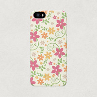 Fairytale Cartoon Floral iPhone 4 4s 5 5s 5c Case