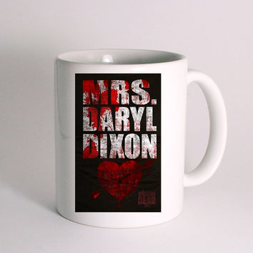Walking Dead Mrs Daryl Dixon for Mug Design