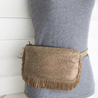 Tribal fanny pack/ Boho hip bag/ Fringe Fanny Pack/Upcycled utility belt/ Festival bag/ Gypsy bag.