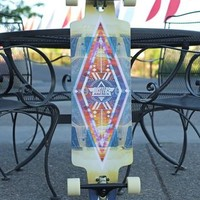"Dusters Prebuilt 36"" Lite Drop Through Longboard Complete"