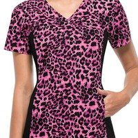 Buy Cherokee Women's Furry On Up V-Neck Knit Panel Top for $21.45