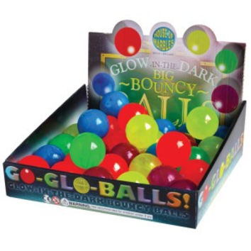 Glow in the Dark Bouncy Balls