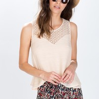 Double Layered Lace Tank