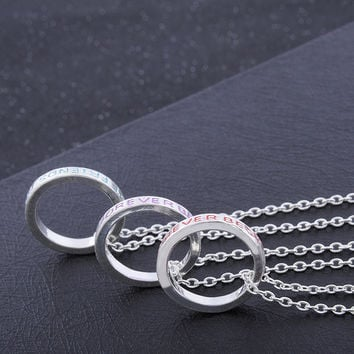 3pcs/set Stylish Jewelry New Arrival Shiny Gift Fashion Accessory Alloy Vintage Ring [11652446031]