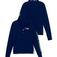 Seattle Seahawks Athletic Half-Zip Pullover - PINK - Victoria's Secret