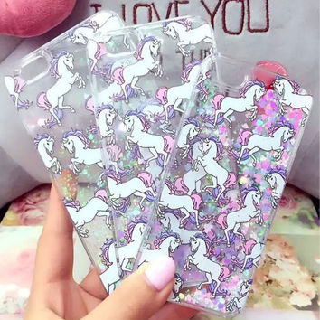 Unicorn iPhone 5s 5C 6 6s Plus Case Gift