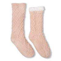 Sweater Knit Slipper Socks - Xhilaration