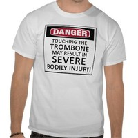 Danger Trombone Shirts from Zazzle.com