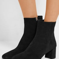 Prada - Suede ankle boots