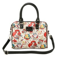 Disney Loungefly The Little Mermaid Tattoo Satchel Bag
