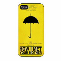 How I met your mother four iPhone 5/5s Case