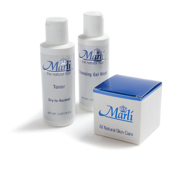 Marli Complete Skin Care Kit (Cleanser, Toner, Botox Alternative)