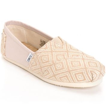 Toms Classic Whisper Woven Diamond Women's Shoes