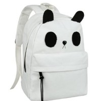 Cute Canvas Casual Style Panda Backpack/ Shoulder/ Book Bag (Model: B010392)