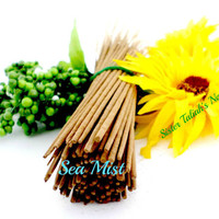 Sea Mist Handmade Incense Sticks All Natural Fragrances Hand Dipped Incense Holder Candles Home Fragrance Home Decor