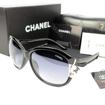 Chanel Woman Men Fashion Summer Sun Shades Eyeglasses Glasses Sunglasses