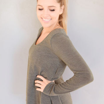 Gore Creek Sweater Olive