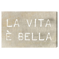 You should see this Life is Beautiful Canvas Art on Daily Sales!