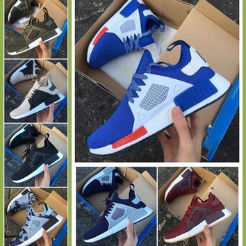2017 New NMD XR1 Blue White Captain America Sneakers Women Men Youth Running Shoes Hig