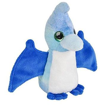 Wildlife Tree 3.5 Inch Pteranodon Pterodactyl Mini Small Stuffed Animals Bulk Bundle of Dinosaur Toys or Prehistoric Dino Party Favors for Kids Pack of 12